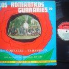 LOS ROMANTICOS GUARANIES  LP DUO GONZALEZ  PARAGUAY _52