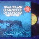 LOS ROMANTICOS DE CORDOBA FOLK  LP CIELO GRIS ARGENTINA