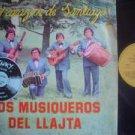 LOS MUSIQUEROS DEL LLAJTA  LP CORAZON DE SANTIAGO  ARGE