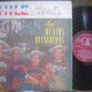 LOS HUASOS QUINCHERO LP FOLK  CANTA CHILE_42507