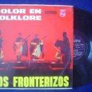 LOS FRONTERIZOS LP COLOR EN FOLKLORE  ARGENTINA_22493