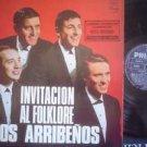 LOS ARRIBENOS LP INVITACION AL FOLKLORE  ARGENTINA_2216