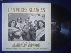 LAS VOCES BLANCAS LP ATAHUALPA YUPANQUI  ARGENTINA_2112