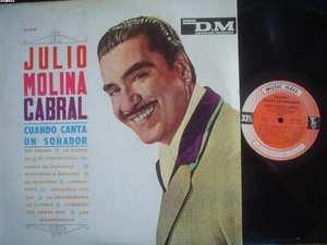 JULIO MOLINA CABRAL LP CUANDO CANTA FOLKLORE ARGENTINA_
