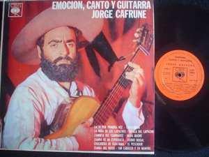 JORGE CAFRUNE LP EMOCION CANTO Y ARGENTINA 19310