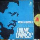 JAIME DAVALOS LP POEMAS Y CANCIONES  ARGENTINA_17267