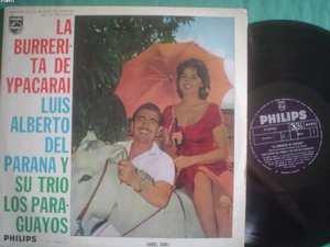 ISABEL SARLI -LUIS ALBERTO DEL PARANA LP LA BURRERITA A