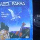 ISABEL PARRA LP LO QUE MAS FOLK CHILE  ARGENTINA_17033