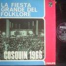FRONTERIZOS-ISELLA-NOMBRADORES LP COSQUIN 1966 ARGENTIN