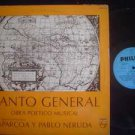 CONJUNTO APARCOA -PABLO NERUDA LP CANTO GENERA ARGENTIN