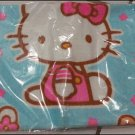 Blue Hello Kitty Face Towel