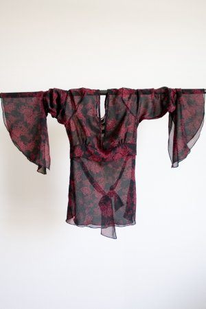 Sheer Kimono Style Top