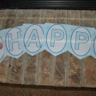 Bubble Guppies Personalized Laminated Birthday Banner