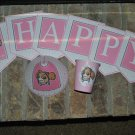PAW PATROL Pink PERSONALIZED PARTY SUPPLIES