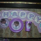 DISNEY DOC MCSTUFFINS Personalized Birthday Party Supplies