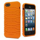 Cygnett CY0872CPBUL Bulldozer Silicone Case for iPhone 5/5S Orange