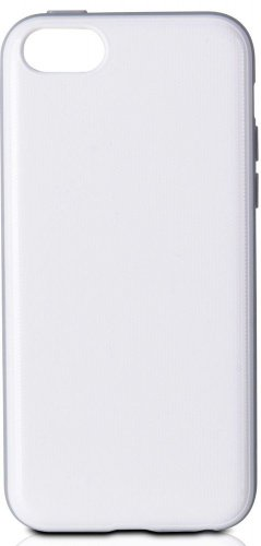 XtremeMac Microshield Accent White Carbon Fiber Honeycomb Case for iPhone 5C