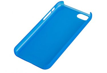 XtremeMac IPP-MLCP 23 Hard Plastic Case for iPhone 5c Microshield Sky Blue Frost