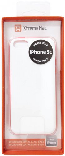 XtremeMac Microshield  Accent Pink Watermelon Carbon Fiber Case for iPhone 5C