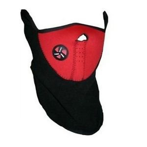 Warm Neoprene Winter Ski Mask Snowboard Motorcycle Bike Soft Red