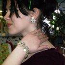 Beautiful Antique 50s Necklace and bracelet set