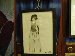 Mavia Original drawing by Artist Olivia Lette