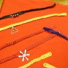 Red Magic braid chocker necklace Original Richard Garza Design