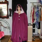 Purple cape fashion by Freilah designs