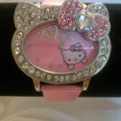 Heart Shaped Hello Kitty Watch (Pink)