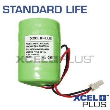 Visonic Powermax Bell Box 150mA Battery 0-9912-J for MCS-700 Siren GP250BVH6AMX