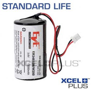 Visonic Powermax Bell Box Siren 13,000mAh Battery for MCS-710/730 0-9912-K