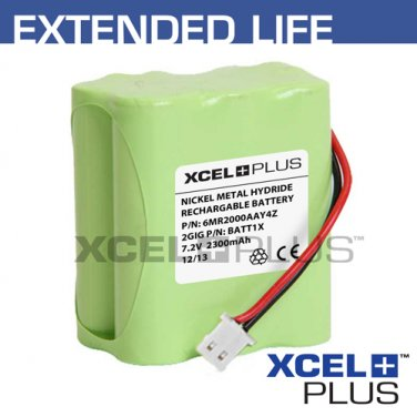 2GIG Technologies Extended Alarm Battery 2300mA BATT1X