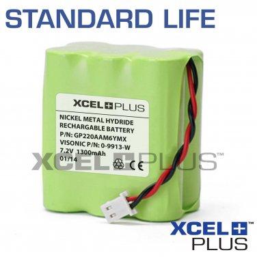 Visonic Powermax 0-9913-W 1300mA GSM Module Back up Alarm Battery