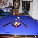"2006 Brand New 3/4"" Slate Pool Table"