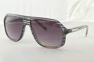 Gray 80s style wood grain stunna aviator sunglasses gradient lens casino gambler