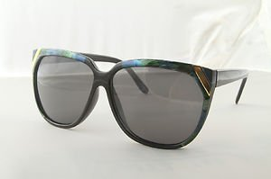 Designer ladies Peacock and Floral sunglasses with gradient lenses oversized