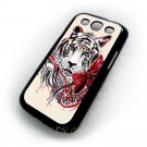 White Tiger Animal Design Art Samsung Galaxy S3 i9300 case