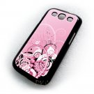 Art Design Her Abstraction Pink Art Samsung Galaxy S3 i9300 Cover Hard case
