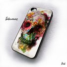 Flower Skull Alexander McQueen Iphone 4, 4g, 4s Case
