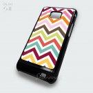 Chevron Pattern Chevron Colourful Samsung Galaxy S2 Case Cover