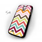 Chevron Pattern Chevron Colourful Samsung Galaxy S4 Case Cover