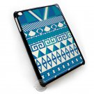 Aztec Blue Pattern Color IPad Mini Case Cover