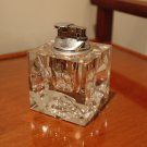 Mid Century Lead Crystal Glass Lighter made in Japan