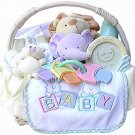 Noah's Ark Baby Gift Basket (Boy, Girl or Neutral)