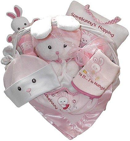Bunny Love Baby Gift Basket