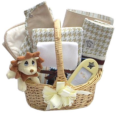 Uptown Baby Gift Basket