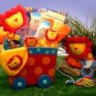 Silly Circus Baby Wagon Gift Set