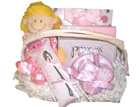 Little Princess Baby Gift Basket
