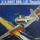 1/32 SBD1/2 DAUNTLESS US NAVY DIVE BOMBER TRUMPETER NEW