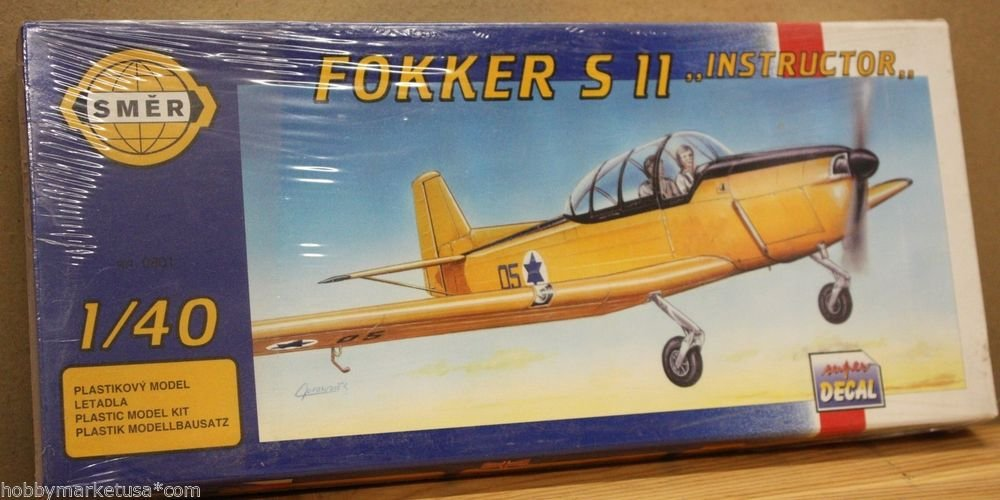 1/40 FOKKER S11 INSTRUCTOR TRAINER SMER NEW